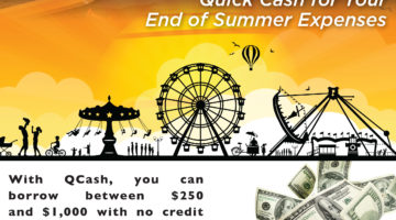 Quick Cash for Your End of Summer Expenses